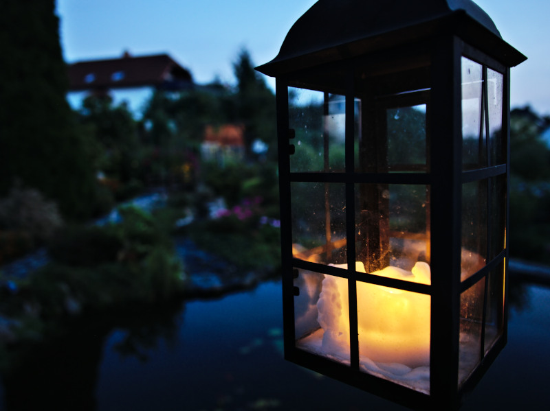 Lieber ein kleines Licht...